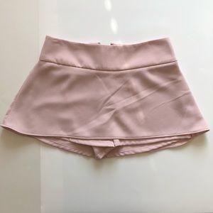 Blush pink Skort